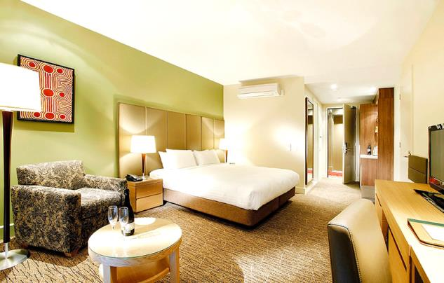 Spacious and elegantly appointed rooms