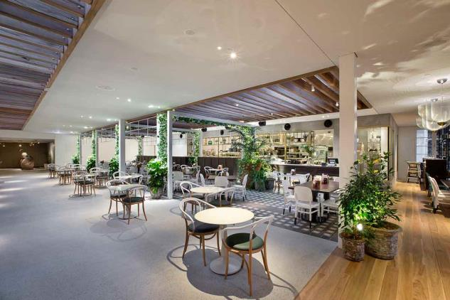 Great place to eat at the Garden Kitchen & Bar